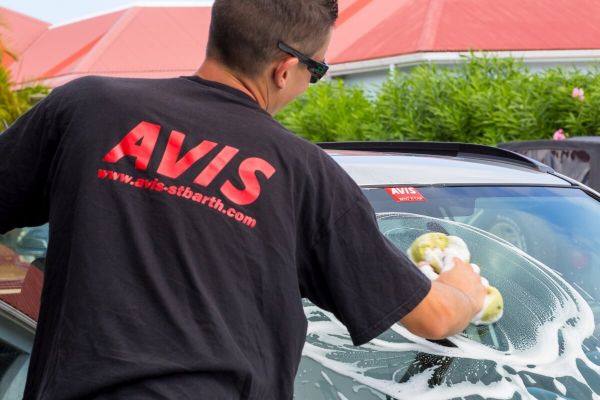 FREE Car Wash at AVIS St. Barth